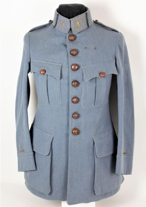 WW1 French Officers 8th Infantry Regiment Tunic