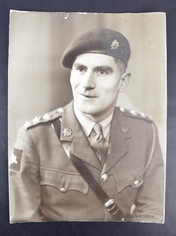 WW2 British Airborne RASC Officer Photograph
