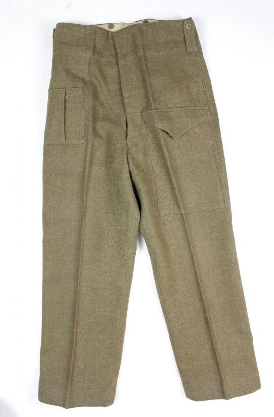 WW2 Canadian Battledress Trousers 1944